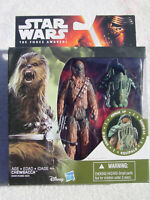STAR WARS THE FORCE AWAKENS 3.75 INCH ARMOR UP CHEWBACCA AKA CHEWY FIG MIP!