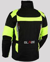 Homme moto imperméable ce armure cordura textile veste tout temps.Talla S-6XL