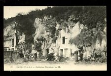 France Indres-et-Loire LOCHES Habitations Troglodytes cave dwellers LL PPC