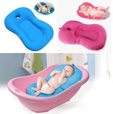 Baby Bath Tub Pillow Pad Lounger Air Cushion Newborn Shower Net Infant Bathtub