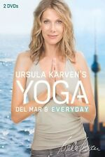 URSULA KARVEN - YOGA DEL MAR & YOGA EVERYDAY  2 DVD NEU