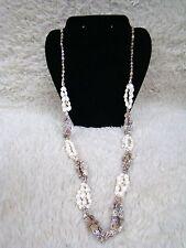 Uniquely Designed Multi-Colored Small Seashell Fashion Jewelry Necklace, Access