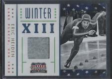 2012 Panini Americana ERIC HEIDEN /349 Winter Games Relic Card 1980 Olympics SP