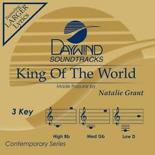 Natalie Grant - King Of The World - Accompaniment/Performance Track – New