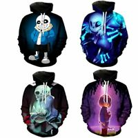 Undertale Sans Frisk Women Men Hoodies Sweatshirts Pullover Casual Hooded Jacket