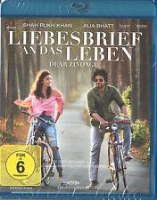 DEAR ZINDAGI / LIEBESBRIEF AN DAS LEBEN - Bollywood Blu-ray - Shahrukh & Alia