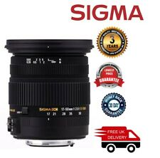 Sigma 17-50mm F2.8 EX DC OS HSM Lens For Pentax 58C961 (UK Stock)