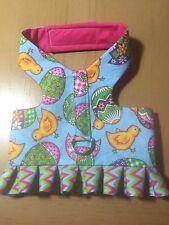 Easter Egg Chick Spring Hand Made Dog Harness Best (1336) M
