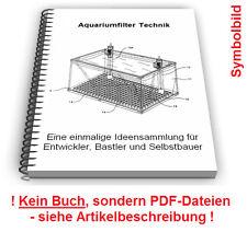 Aquariumfilter Aquarium Filter selbst bauen - Technik Patente Patentschriften