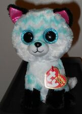 """Ty Beanie Boos - PIPER the 6"""" Claires Exclusive Fox ~ 2017 BRAND NEW ~ IN HAND"""
