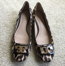5ece2833c4b6 New Tory Burch Gigi Block Heel Pump Calf Hair Natural Leopard (Size  6.5)