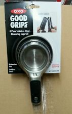 Oxo Good Grips Magnetic Measuring Cup Set Stainless Steel