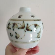 Pretty & Scarce Iden Pottery Rye Sussex Hand Made Posy Vase Japanese Style Decor