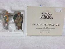 Dept 56 Heritage Village Street Peddlers - 58041