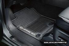 Lexus GX460 (2014-2018) OEM Genuine 4pc ALL WEATHER FLOOR MATS (Black)