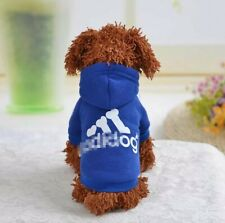 Pet Clothes for Small Medium Dogs Puppy Hoodies Coat Spring Sweatshirt  Dog...