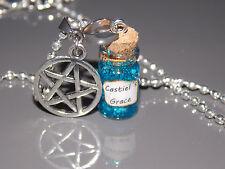 Kette Anhänger * Castiel´s Grace * Flasche Fläschen Supernatural inspiriert Glow