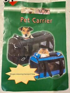 Pet Travel Carrier - Soft Sided Mesh
