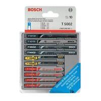 Bosch T5002 10-Piece Assorted Jig Saw Blade Set (10 Pack) (T Shank)