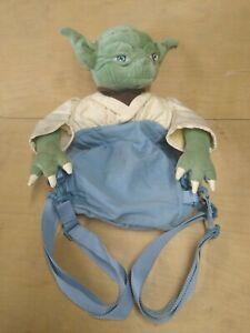"Star Wars YODA in Lukes Backpack 22"" Rucksack 1999 - Used"