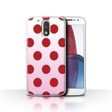Étuis, housses et coques rouge Pour Motorola Moto G4 pour téléphone mobile et assistant personnel (PDA) Motorola