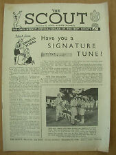 VINTAGE THE SCOUT MAGAZINE NOVEMBER 11th 1948 LORD BADEN-POWELL
