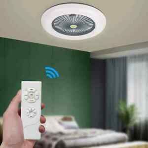 Ceiling Fan Lamps 36W Electric With Remote Control Cool Air Fan Lamp
