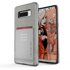 'ghostek Exec Series for Samsung Note 8 GHOCAS759 Case Cover Silver