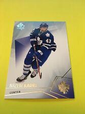 Nazem Kadri Maple Leafs 2015-2016 SP Authentic #11