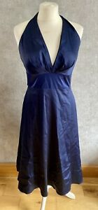 Womens Spotlight By Warehouse Size 12 Evening Party Dress Navy Blue