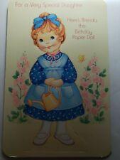 Vintage Paperdoll Card Paramount Cards