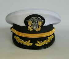 REPLICA US Navy Senior Officer HAT CAP HIGH QUALITY