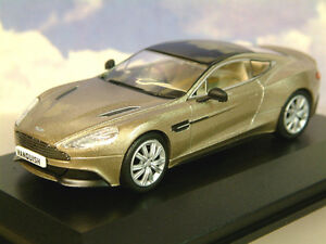 Estupendo Oxford Diecast 1/43 2012 Aston Martin Vanquish Coupé Selene Bronce