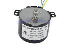 AC220V 28W 2.5//20//30//110RPM Permanent Magnet Synchronous Gear Motor CW//CCW HFT