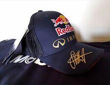 Sebastian Vettel Redbull Racing F1 personal W.CHAMPION BASEBALL cap  FLEXFIT