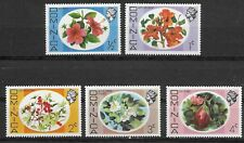 DOMINICA , 1975 , FLOWERS , SET OF 5 STAMPS , PERF , MNH