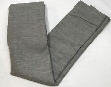 "Pottery Barn Gray Emery Linen/Cotton Blackout Panel Drape 96"" Curtain"