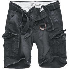 Brandit Shell Valle Hombres Vintage Shorts Seguridad Algodón Pesado Carga Pantal