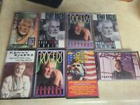 Lot of 8 Kenny Rogers Cassette Tapes Vintage All Play Country Greatest Hits