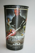 Star Wars Episode 1 The Phantom Menace 3D Plastic Cup collectible rare