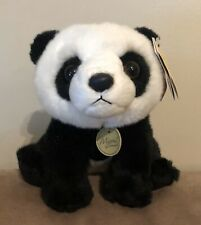 "AURORA MIYONI TOTS 8"" SITTING PANDA CUB PLUSH STUFFED ANIMAL TOY"