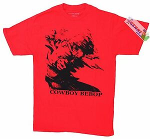 **Legit** Cowboy Bebop Spike in Motion with Green Eye Authentic T-Shirt #59115