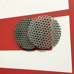 Ronden Lochblech RV5-8, Edelstahl V2A,  1,5mm stark, Individuell nach Maß, Neu