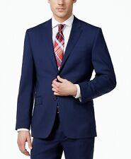Lauren Ralph Lauren Total Stretch Slim Fit Blazer Suit Jacket 44 Regular Navy R