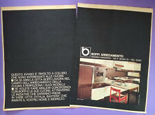 Pubblicita'Advertising Werbung Originale Vintage BOFFI Arredamento 1965(A15)