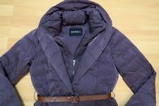 MAX MARA & Co Daunenjacke w.NEU!349€ S/34 tailliert lila Jacke Steppjacke Daunen