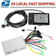 LCD Display Panel Electric Bicycle E-bike Scooter Brushless Controller Parts
