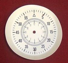 Vintage Original 70 71 MOPAR Cuda / Challenger Rallye Dash Clock Faceplate WHITE