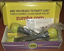 ZUMBA TONING Join The Party Toning Sticks and Best of Exhilarate Soundtrack NIB