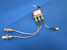 Dow Key Microwave 101-2208 12VDC FSCM 00471 W/ 3 Wire Connectors